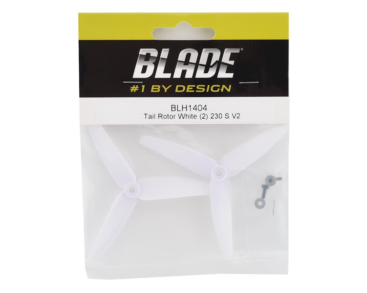 Blade 230 S V2 Tail Rotor Propeller (White) (2)