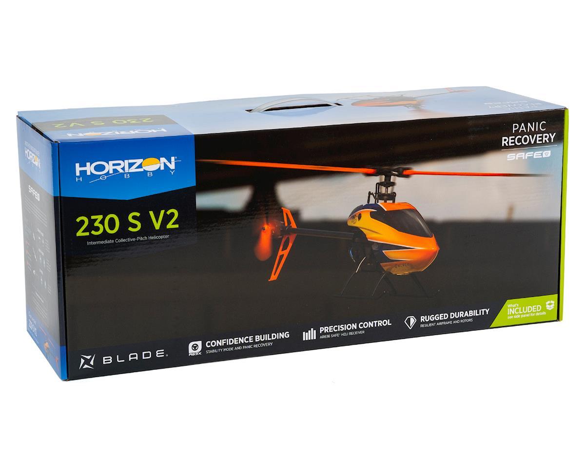 Blade 230 S V2 Bind-N-Fly Basic Electric Flybarless Helicopter