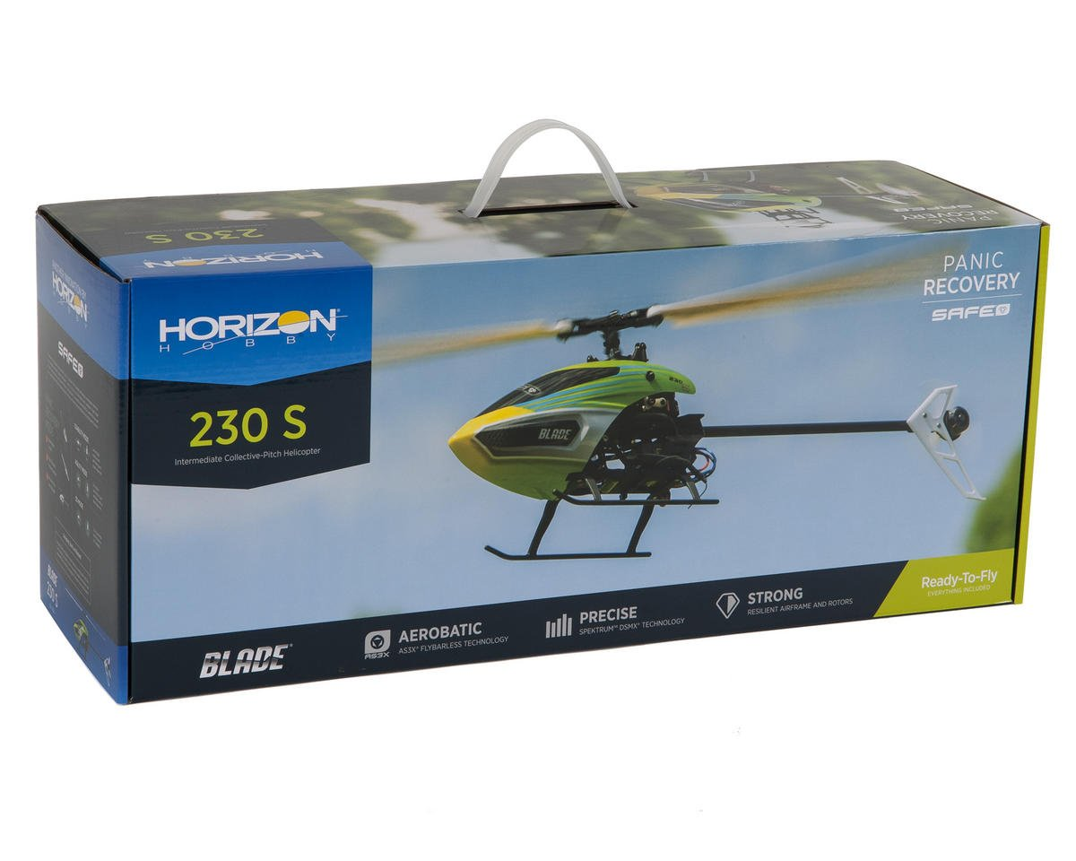 Blade Helis 230 S RTF Flybarless Electric Collective Pitch Helicopter