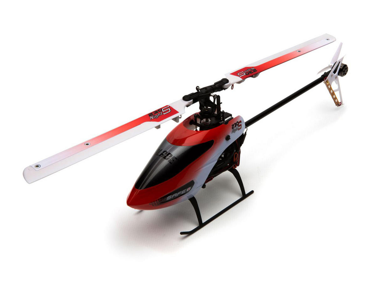 Blade Helis 230 S Night Bind-N-Fly Basic Electric Flybarless Helicopter