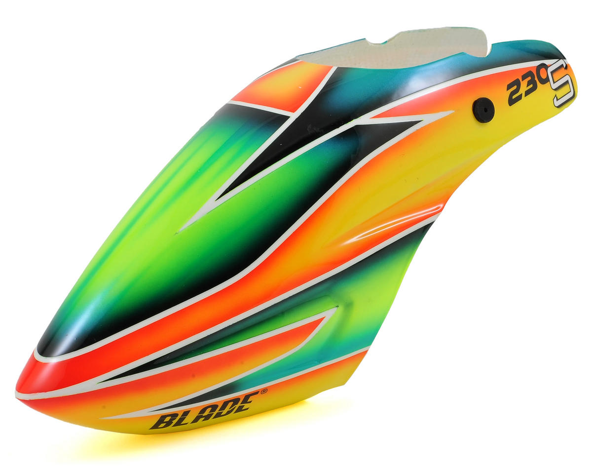 Blade Helis 230 S Canopy (Orange/Green)