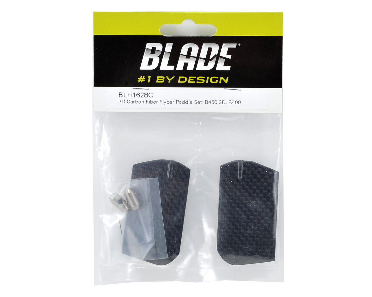 Blade Helis 3D Carbon Flybar Paddle Set