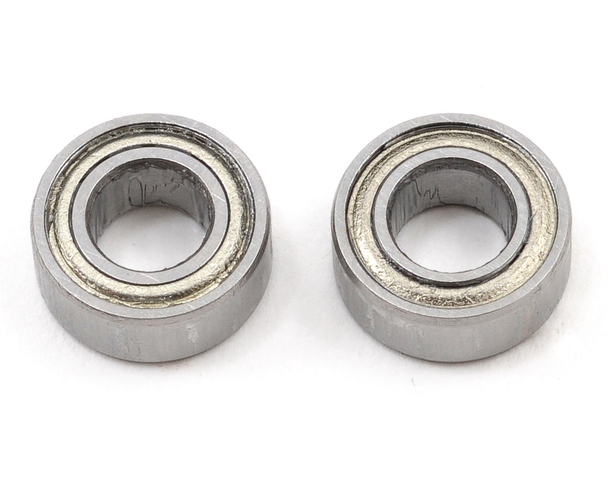 Blade 500 3D Helis 5x10x4mm Main Shaft Bearing Set (2)