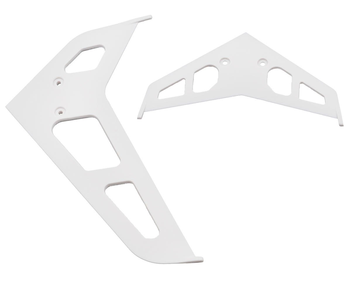 Blade 450 3D Stabilizer Fin Set (White)