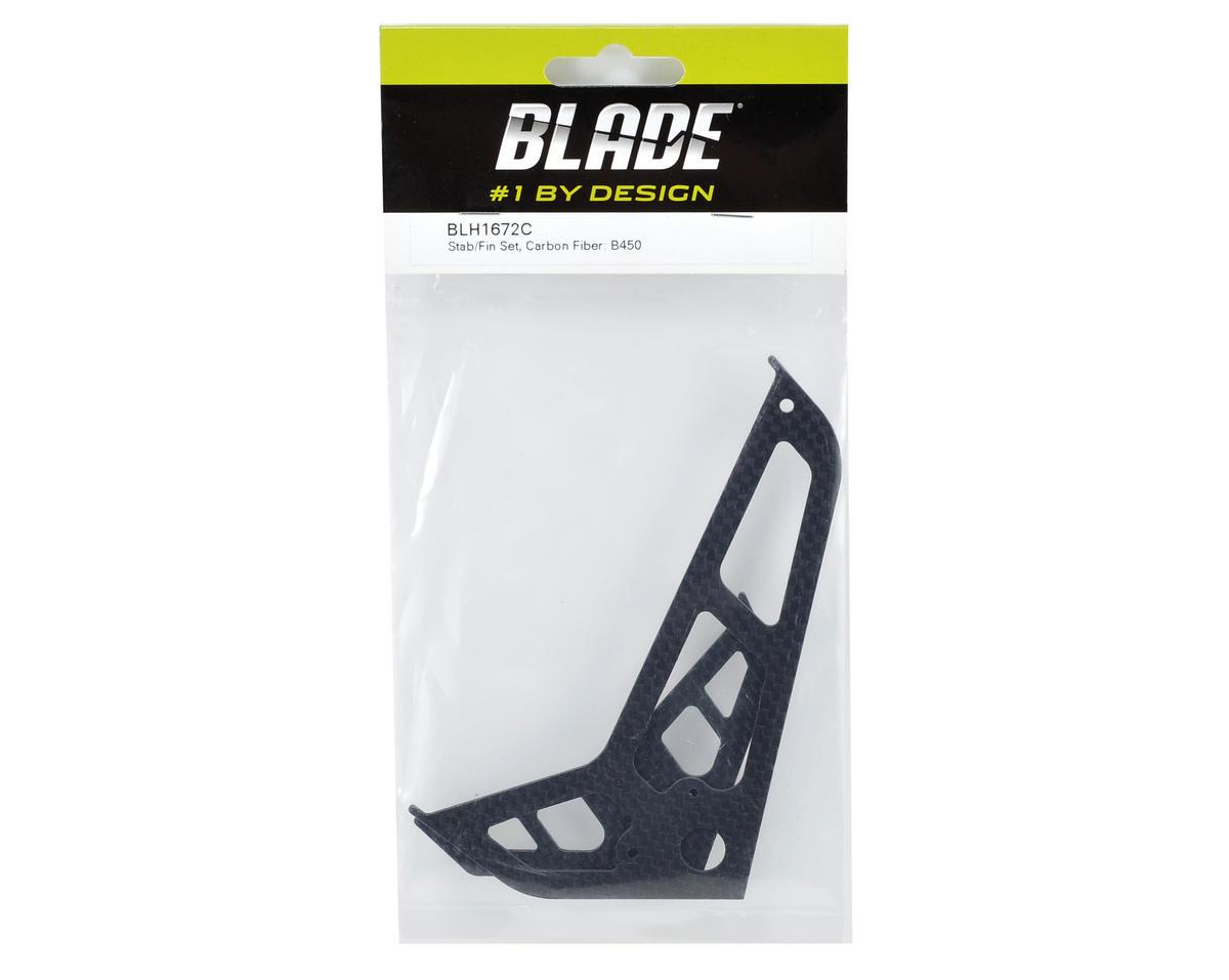 Blade Helis Carbon Fiber Stabilizer Fin Set