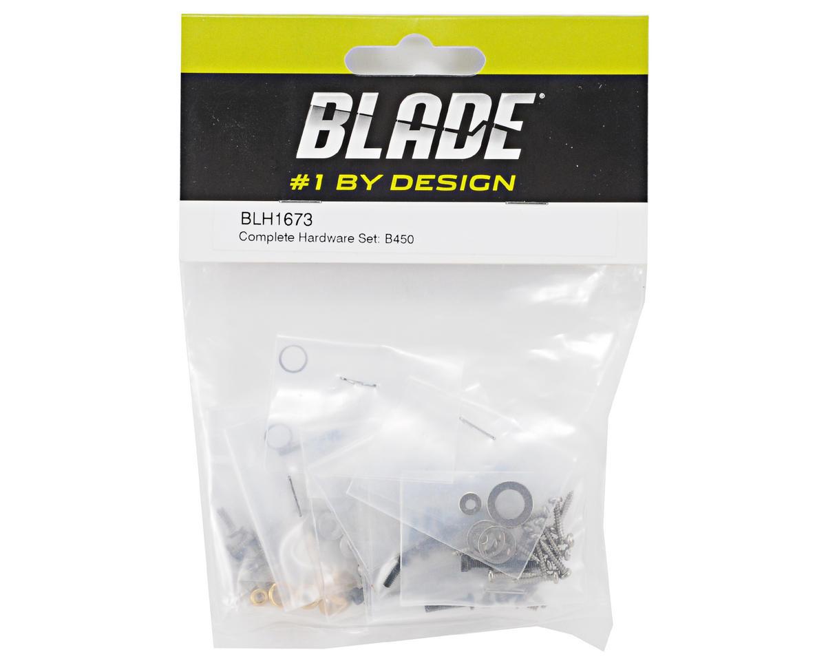 Blade 450 3D Helis Complete Hardware Set