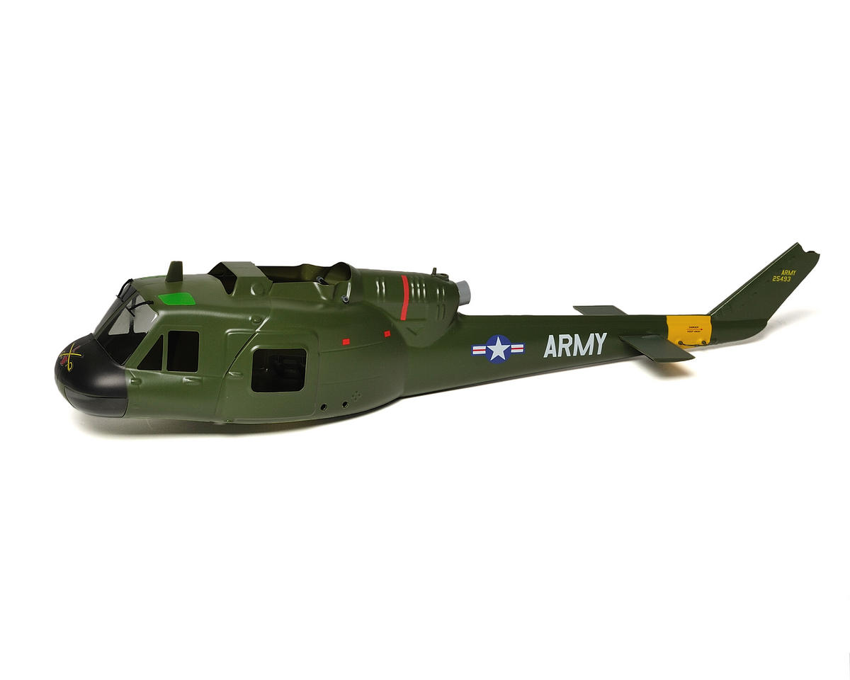 Blade Helis SR UH-1 Huey Gunship Body Kit