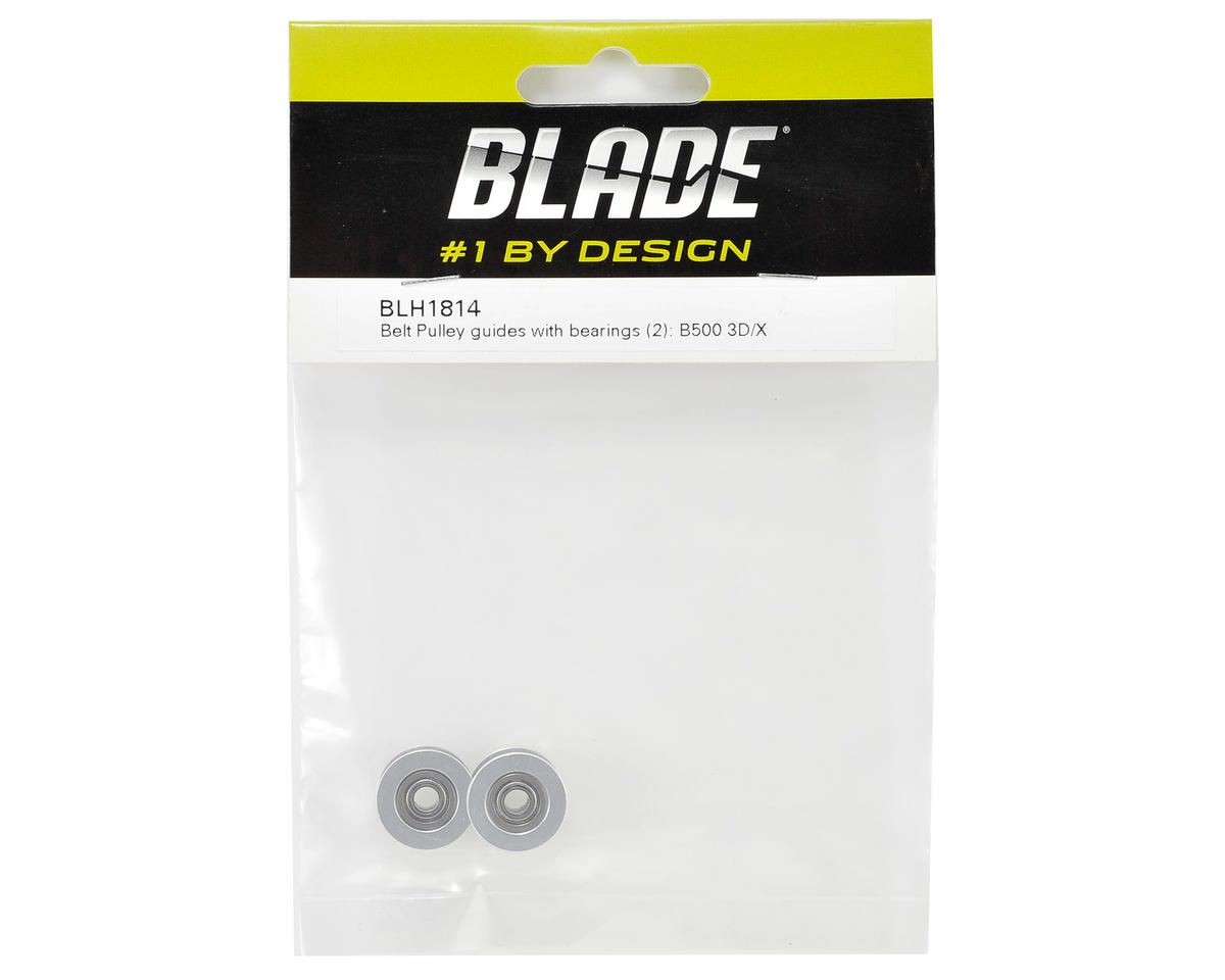 Blade Helis Belt Pulley Guides w/Bearings (2)