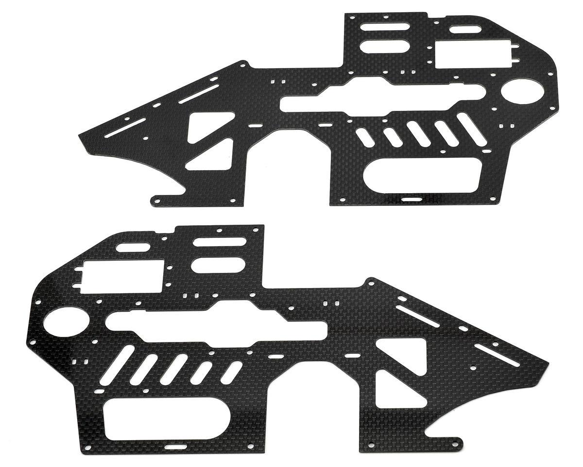 Blade Helis Carbon Fiber Main Frame Set