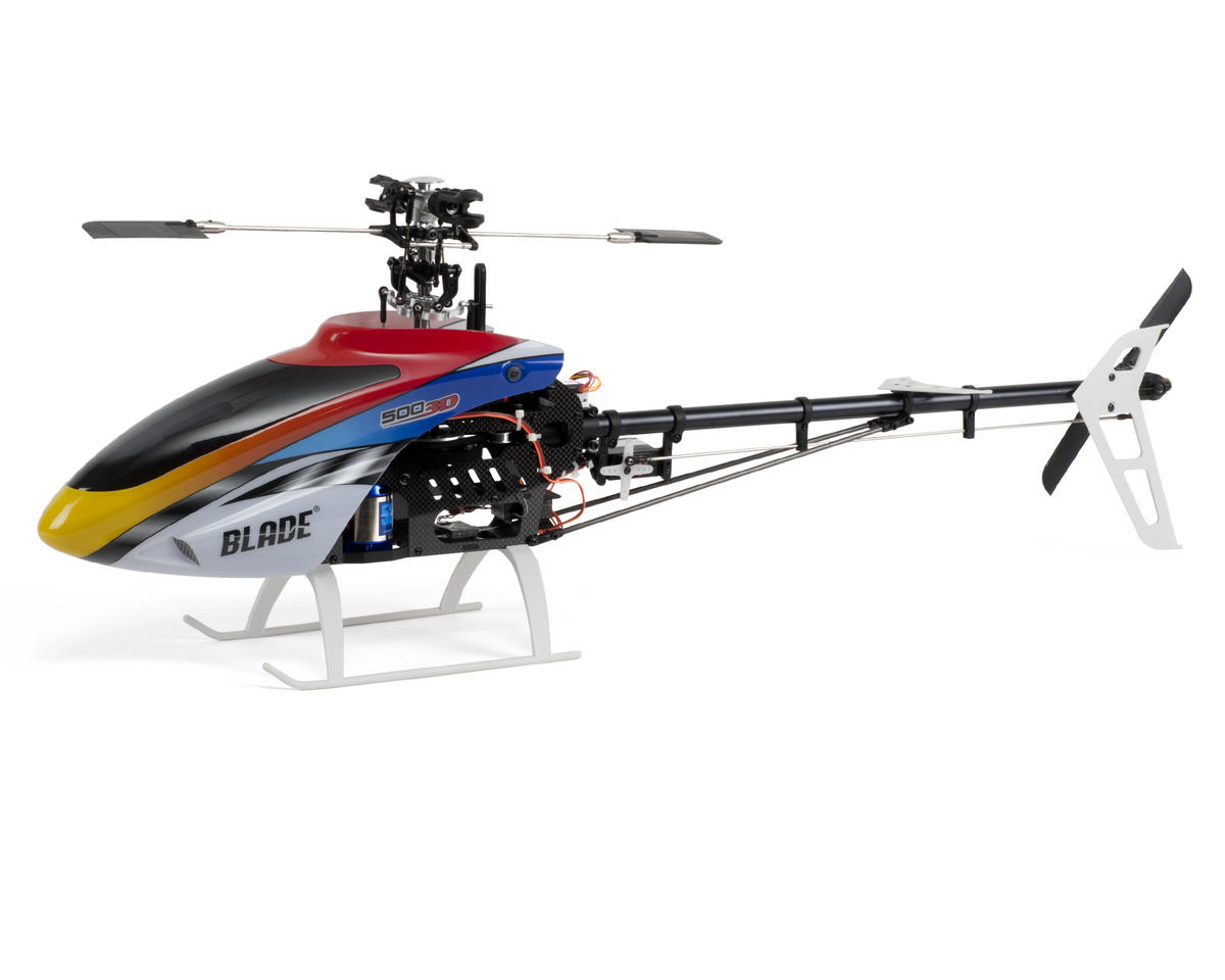 Blade Helis 500 3D BNF Basic Electric Helicopter