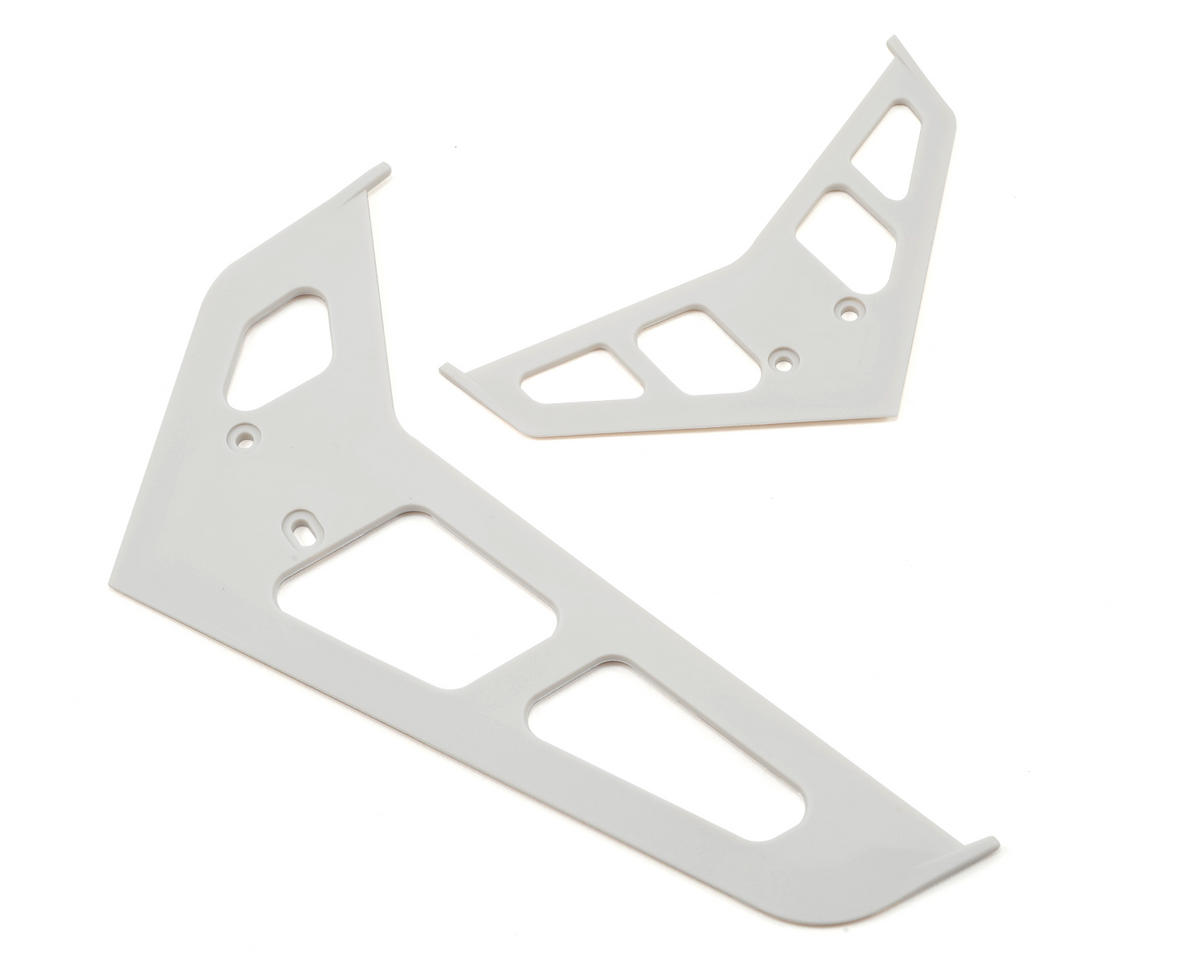 Blade 500 3D Stabilizer Fin Set (White)
