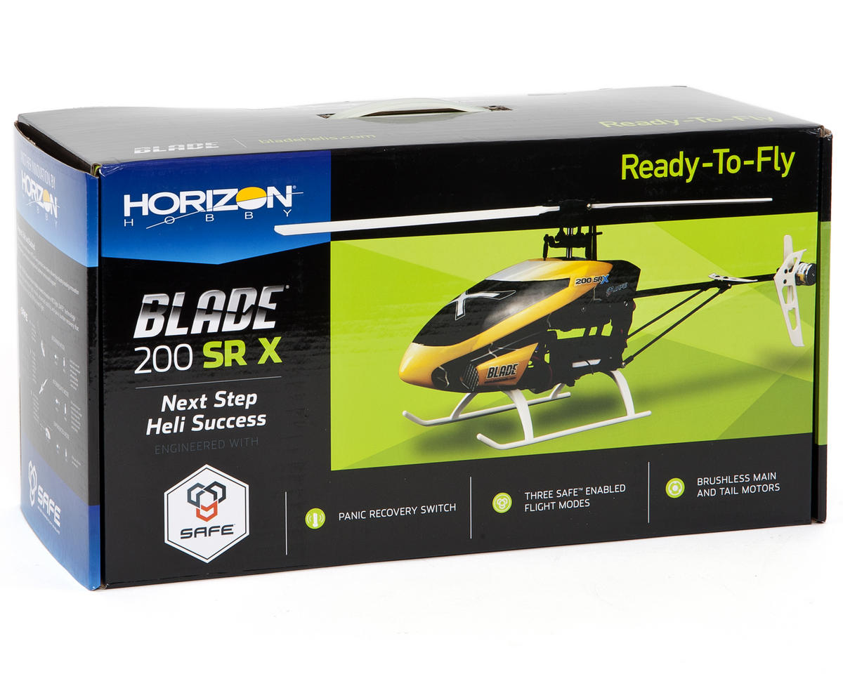 Blade Helis 200 SR X RTF Fixed Pitch Flybarless Helicopter