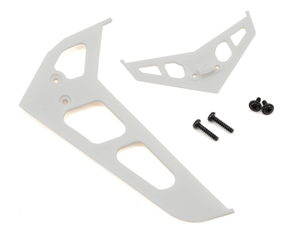 Stabilizer Fin Set (White) by Blade Helis