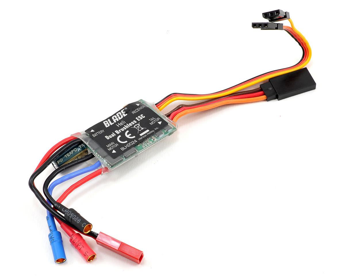 Blade Helicopter Dual Brushless ESC