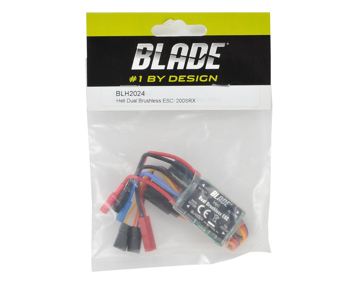 Blade Helis Helicopter Dual Brushless ESC