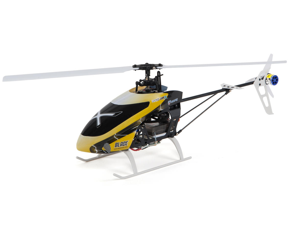 SCRATCH & DENT: Blade Helis 200 SR X BNF Fixed Pitch Flybarless Helicopter
