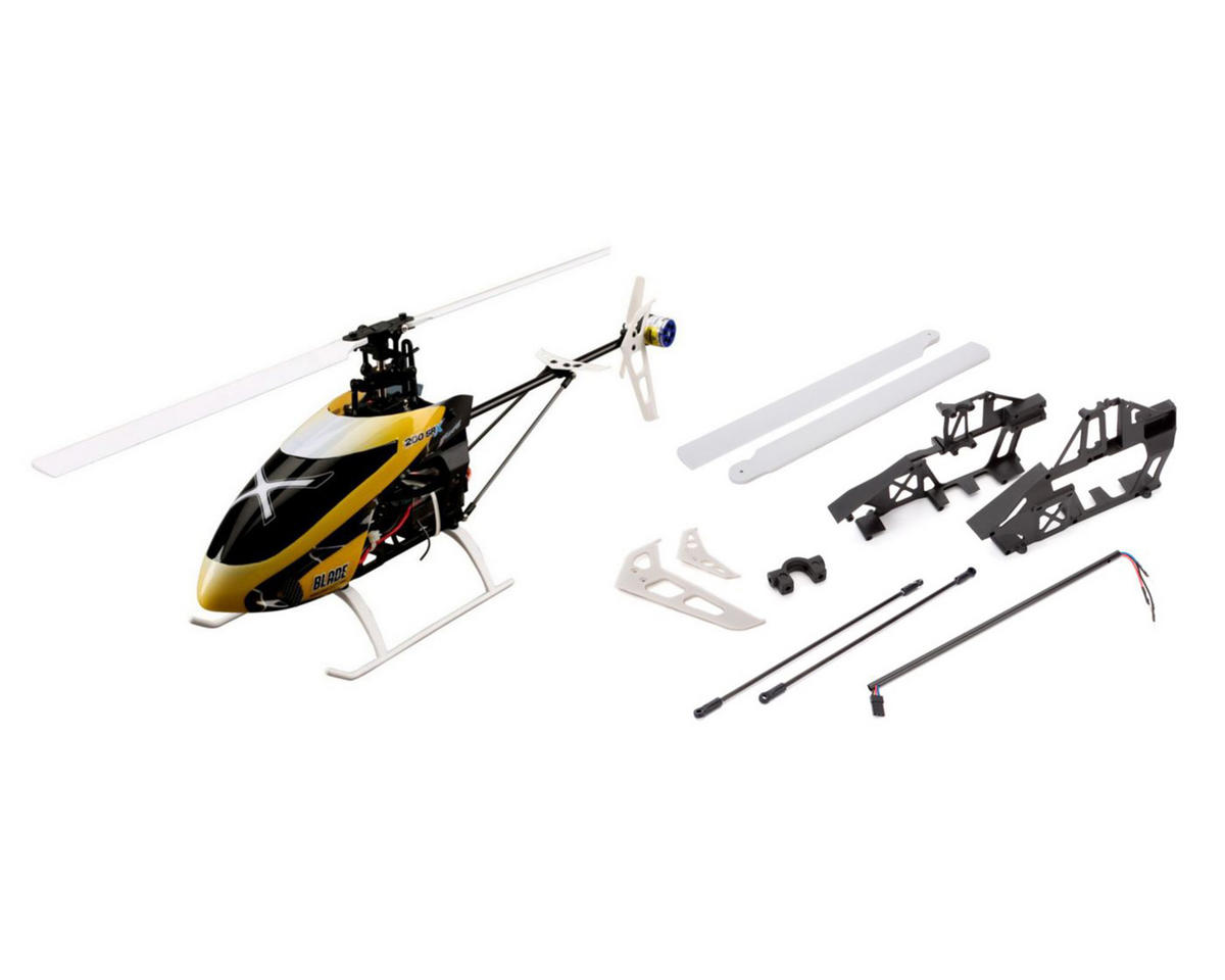 Blade Helis 200 SR X BNF Fixed Pitch Flybarless Helicopter
