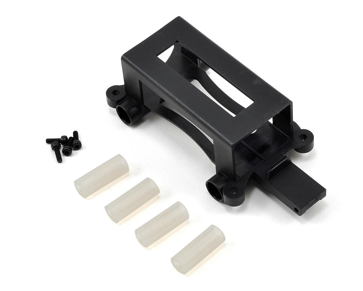 Blade Helis Battery Tray w/Landing Gear Sleeves