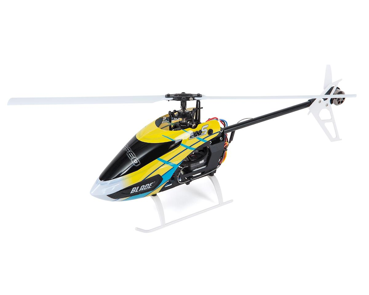 Blade Helis 200 S BNF Fixed Pitch Flybarless Helicopter w/SAFE Technology