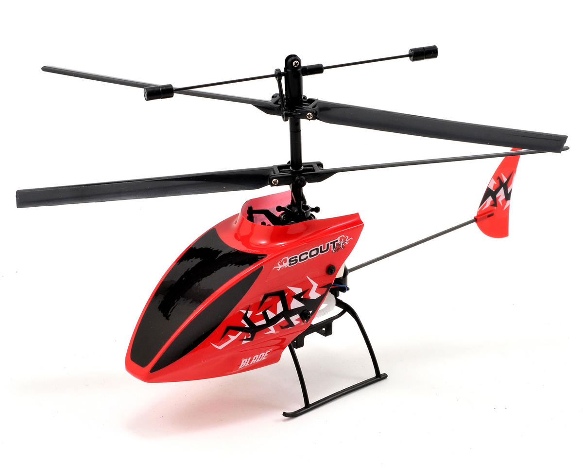 Blade Helis Scout CX Electric Micro Coaxial RTF Helicopter