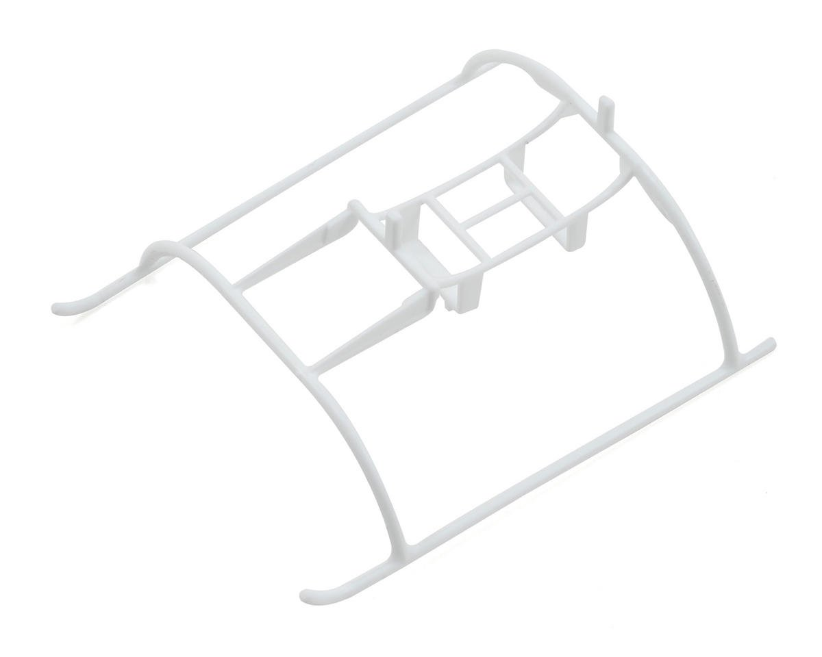 Blade Helis Landing Skids with Battery Mount (White)