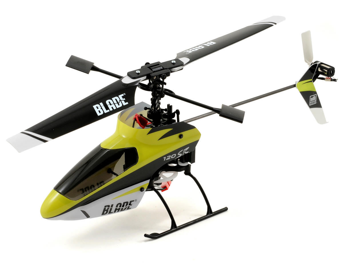 Blade Helis 120 SR RTF Electric Micro Helicopter w/2.4GHz Radio, Battery & Charger