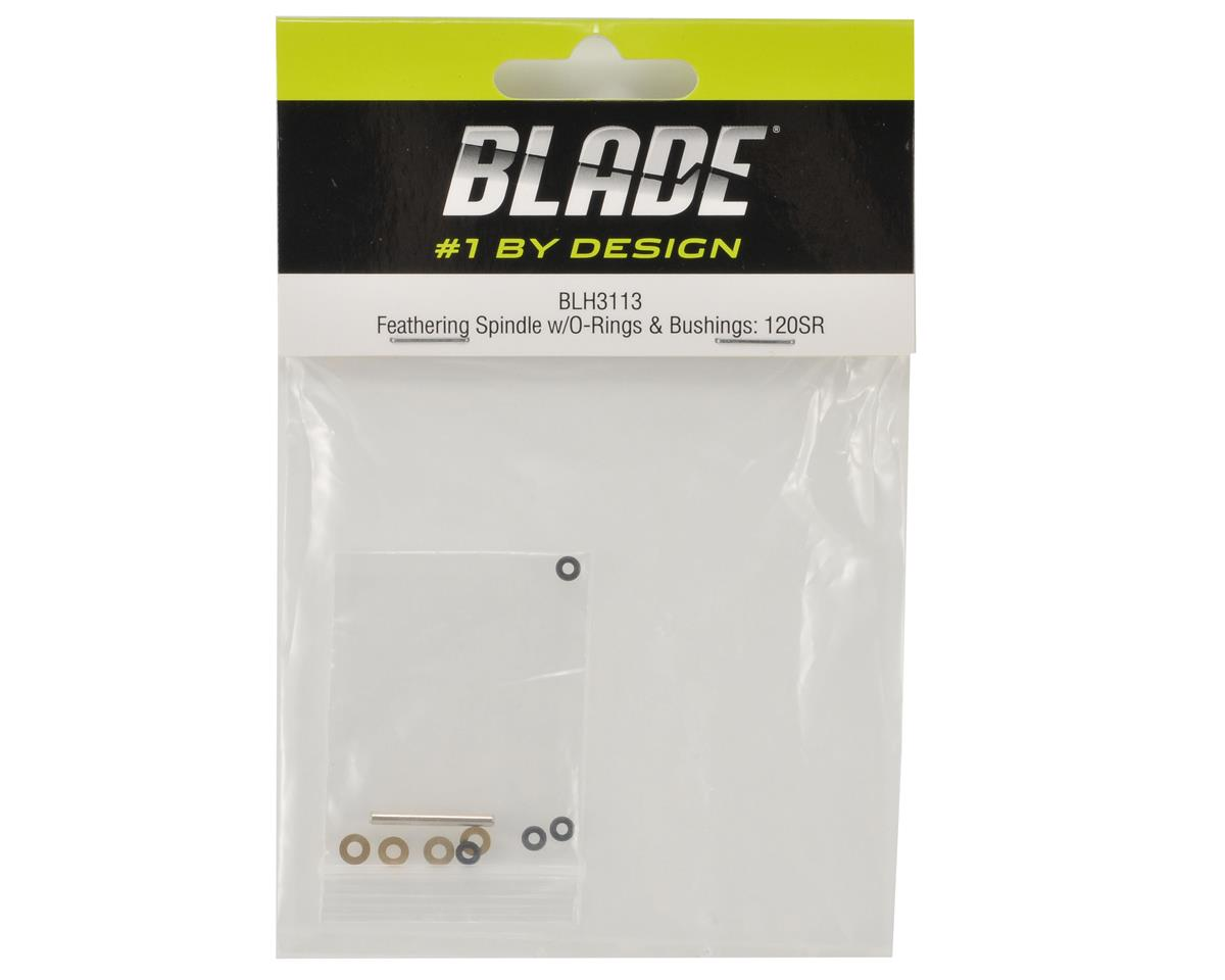 Blade Helis Feathering Spindle w/O-rings & Bushings: 120 SR