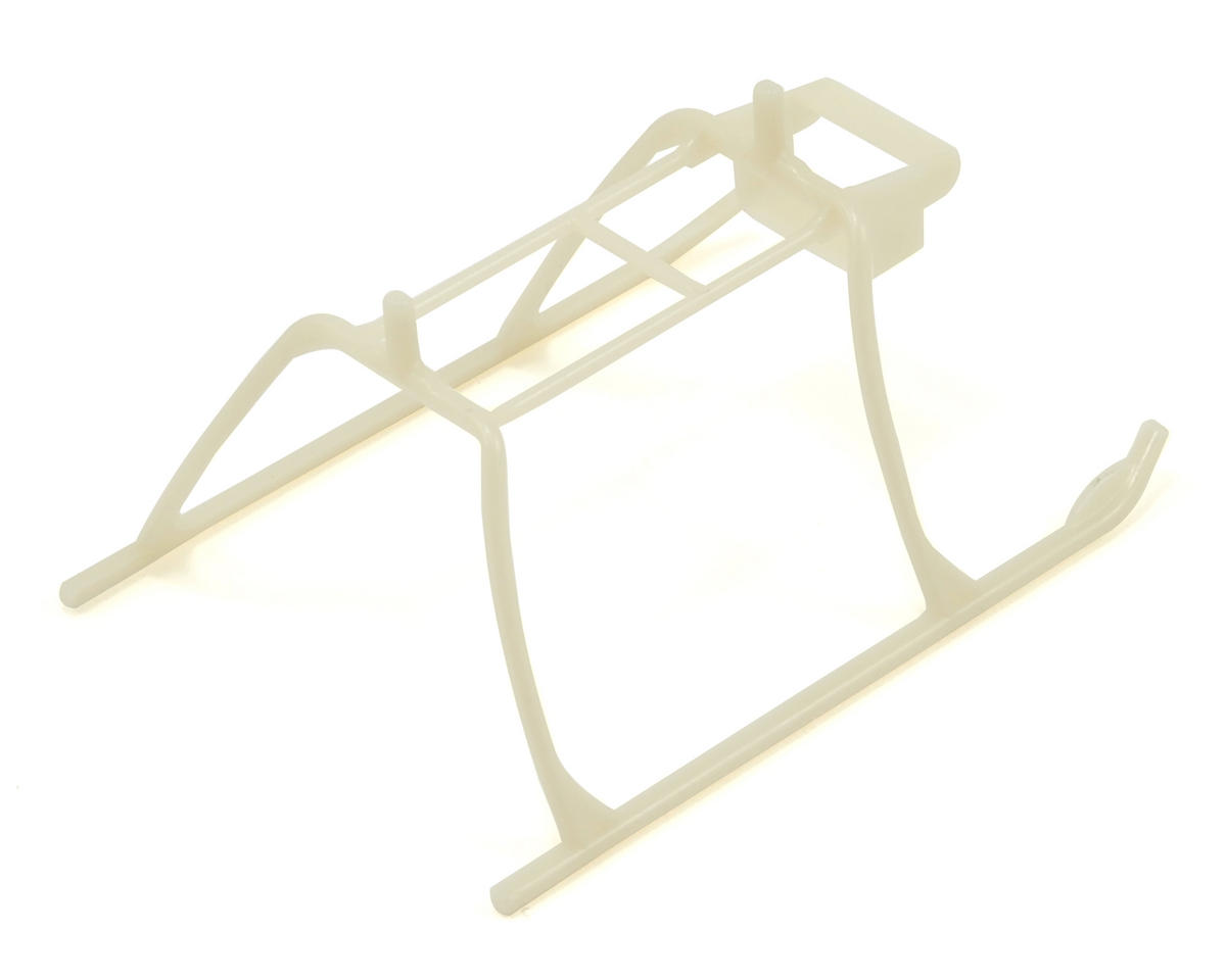 Blade Helis Glow In The Dark Landing Skid & Battery Mount Set (mSR X)