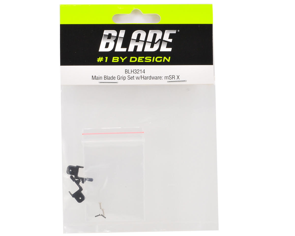 Blade Main Blade Grip Set w/Hardware (mSR X)
