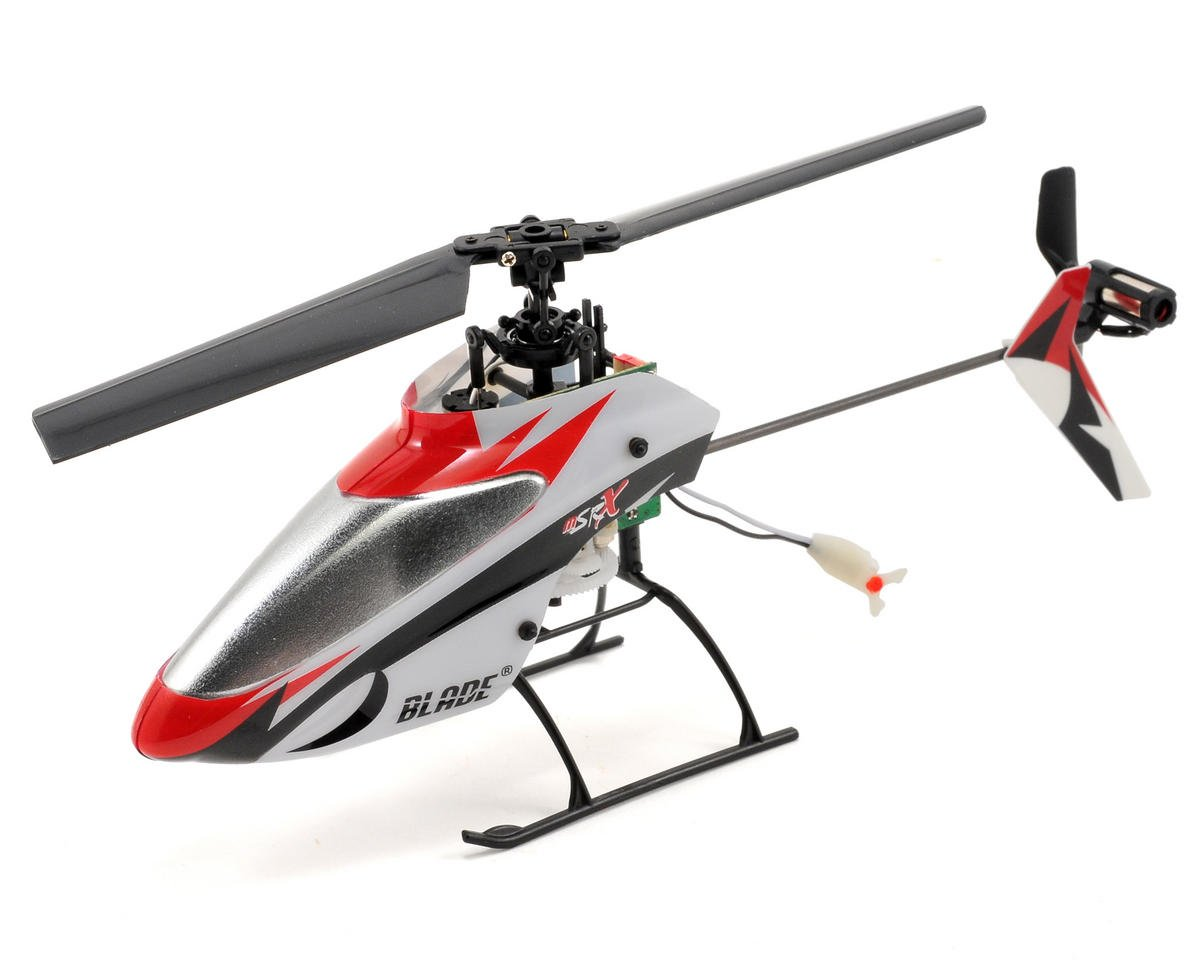 Blade Helis mSR X Bind-N-Fly Basic Flybarless Fixed Pitch Micro Helicopter