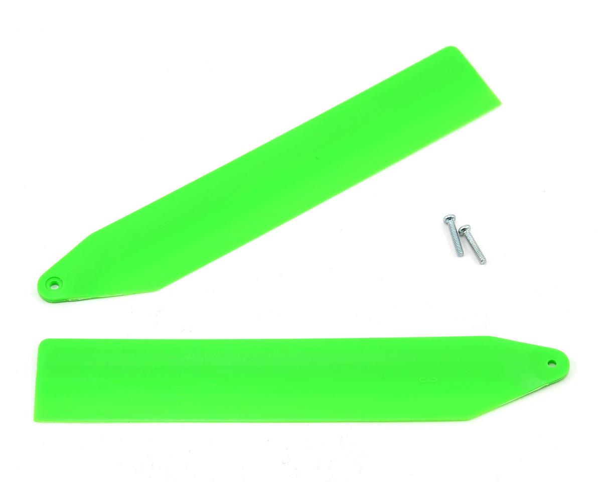 Blade Helis Main Rotor Blade Set (Green) (Nano CP X)