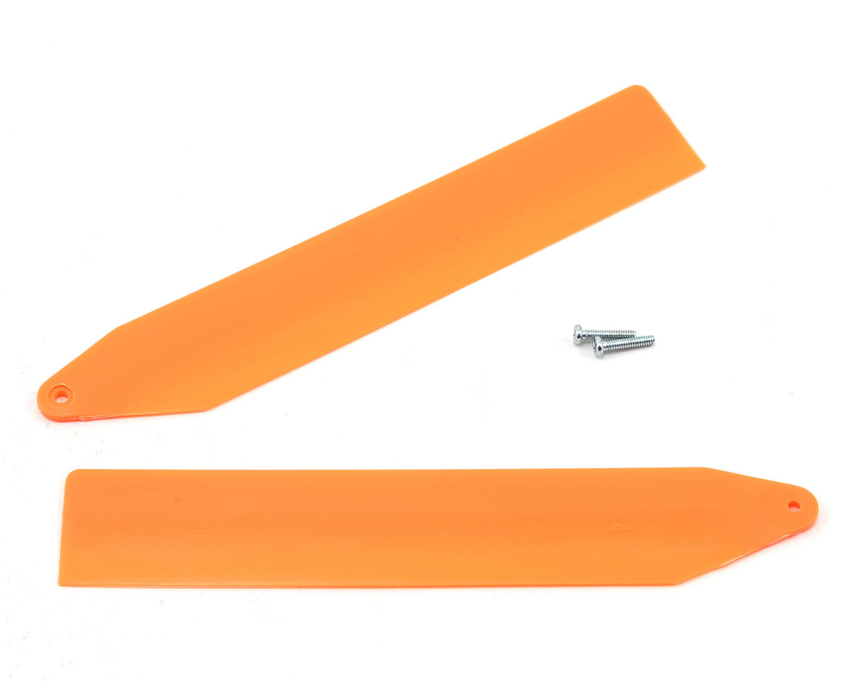 Blade Main Rotor Blade Set (Orange) (Nano CP X)