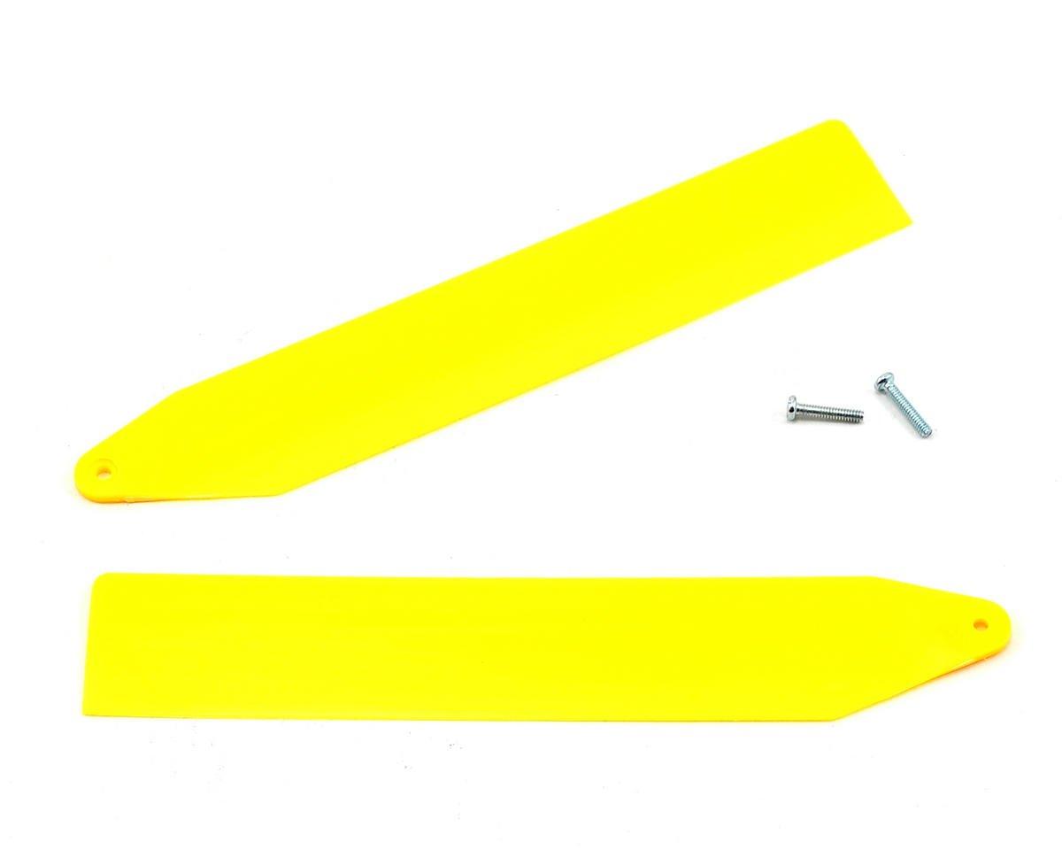 Blade Helis Main Rotor Blade Set (Yellow) (Nano CP X)