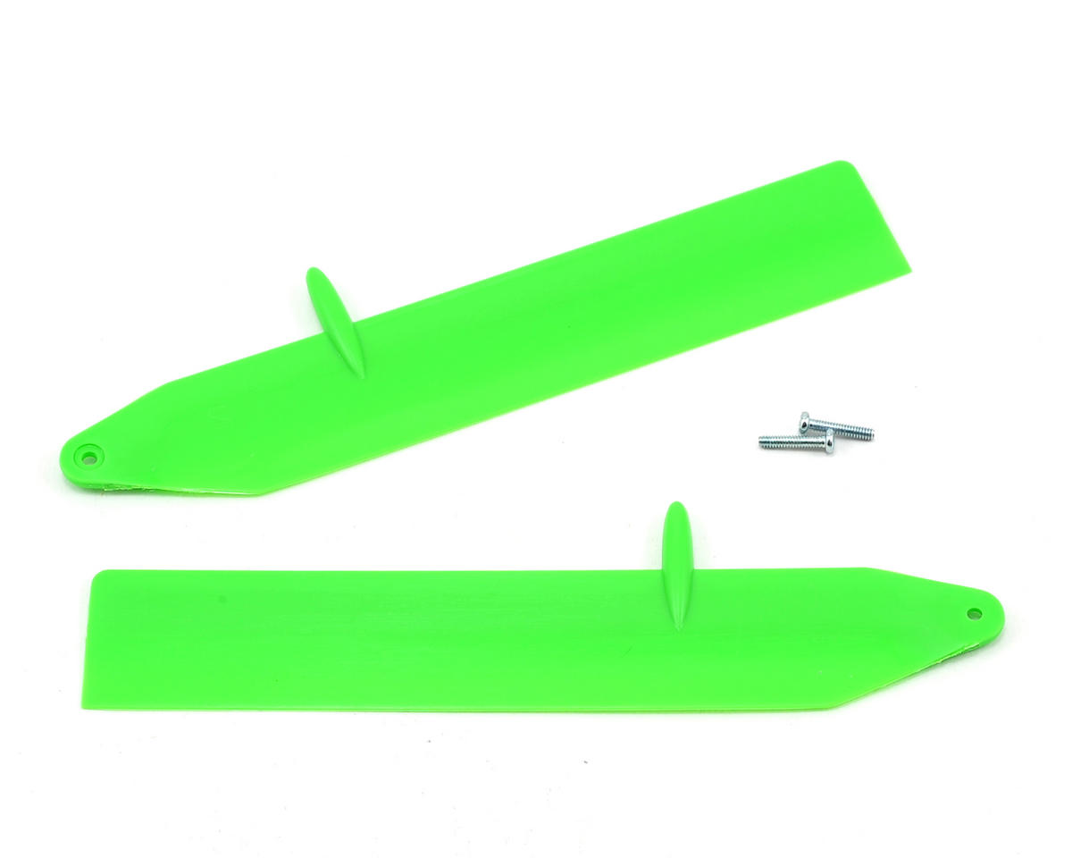 Blade Helis Fast Flight Main Rotor Blade Set (Green) (Nano CP X)