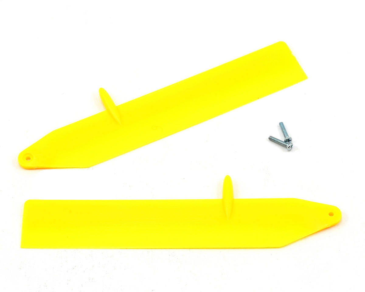 Blade Helis Fast Flight Main Rotor Blade Set (Yellow) (Nano CP X)