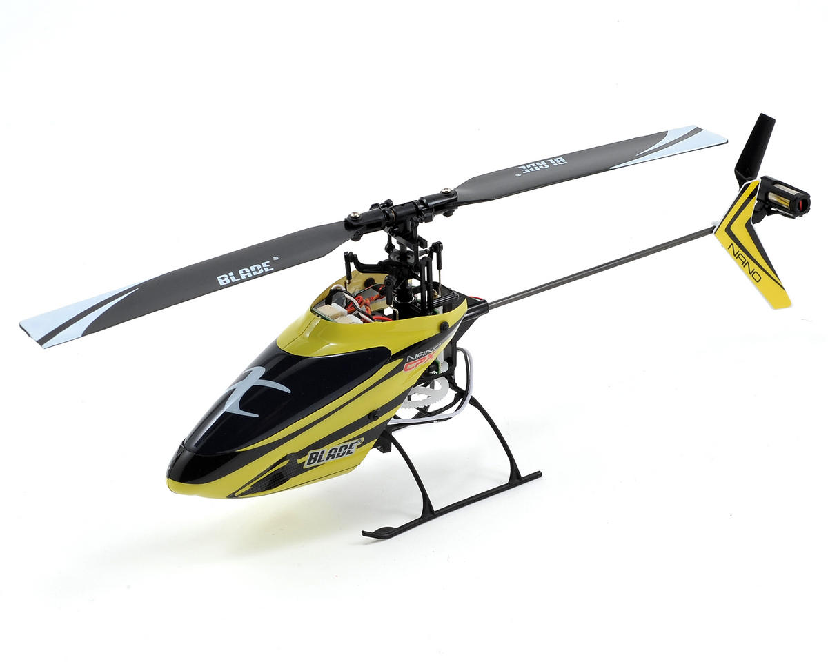 Blade Helis Nano CP X Bind-N-Fly Electric Helicopter