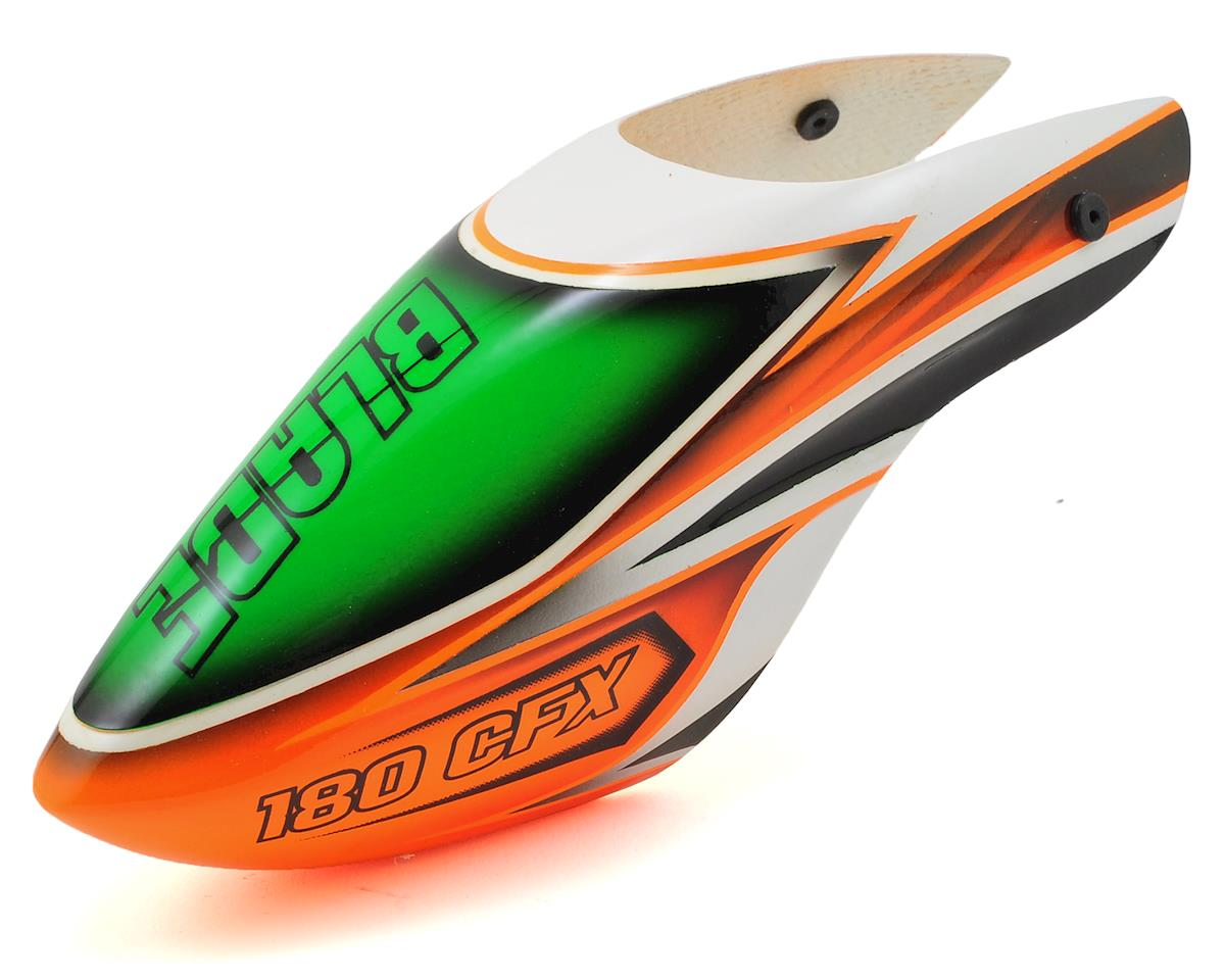 Blade 180 CFX Fiberglass Canopy (Orange/Green)