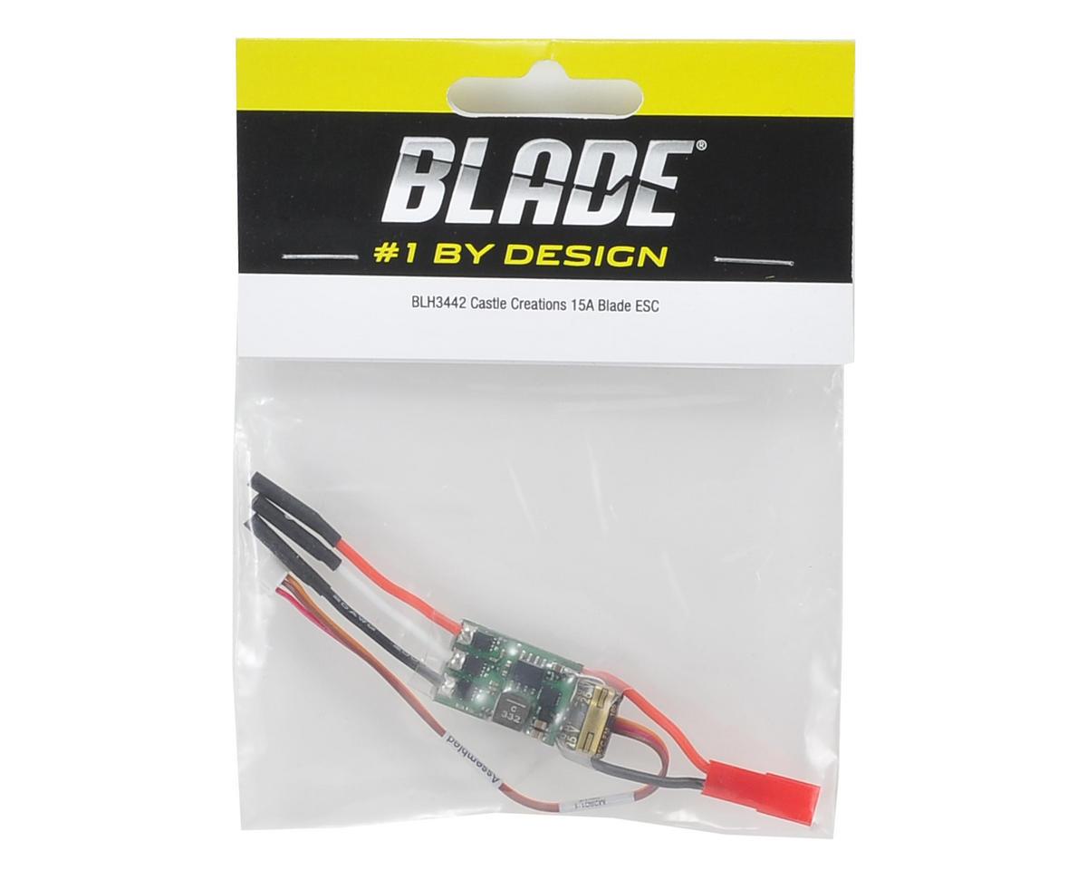 Blade Trio 180 CFX Castle Creations 15A Blade ESC