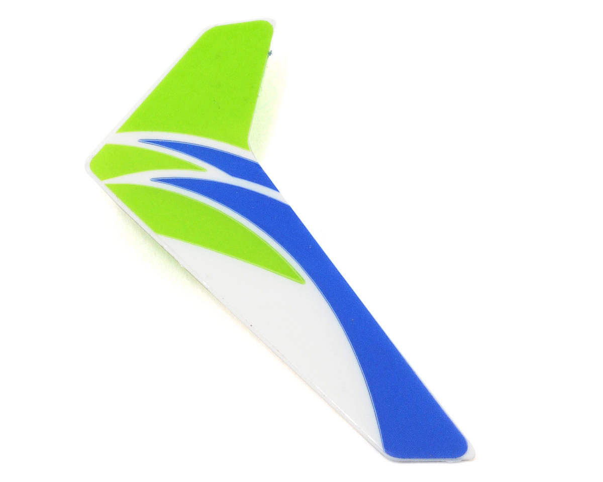 Blade Helis Vertical Fin w/Decal (Green)