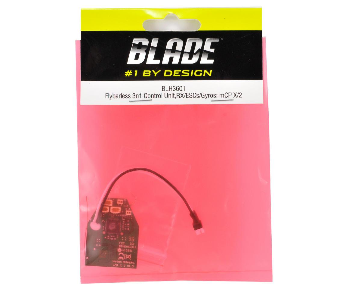Blade Helis Flybarless 3-n-1 Control Unit w/RX, ESC & Gyro