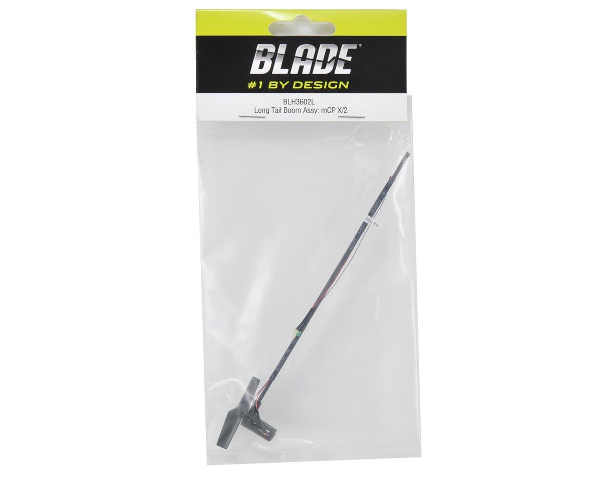 Blade Long Tail Boom Assembly w/Tail Motor, Rotor & Mount