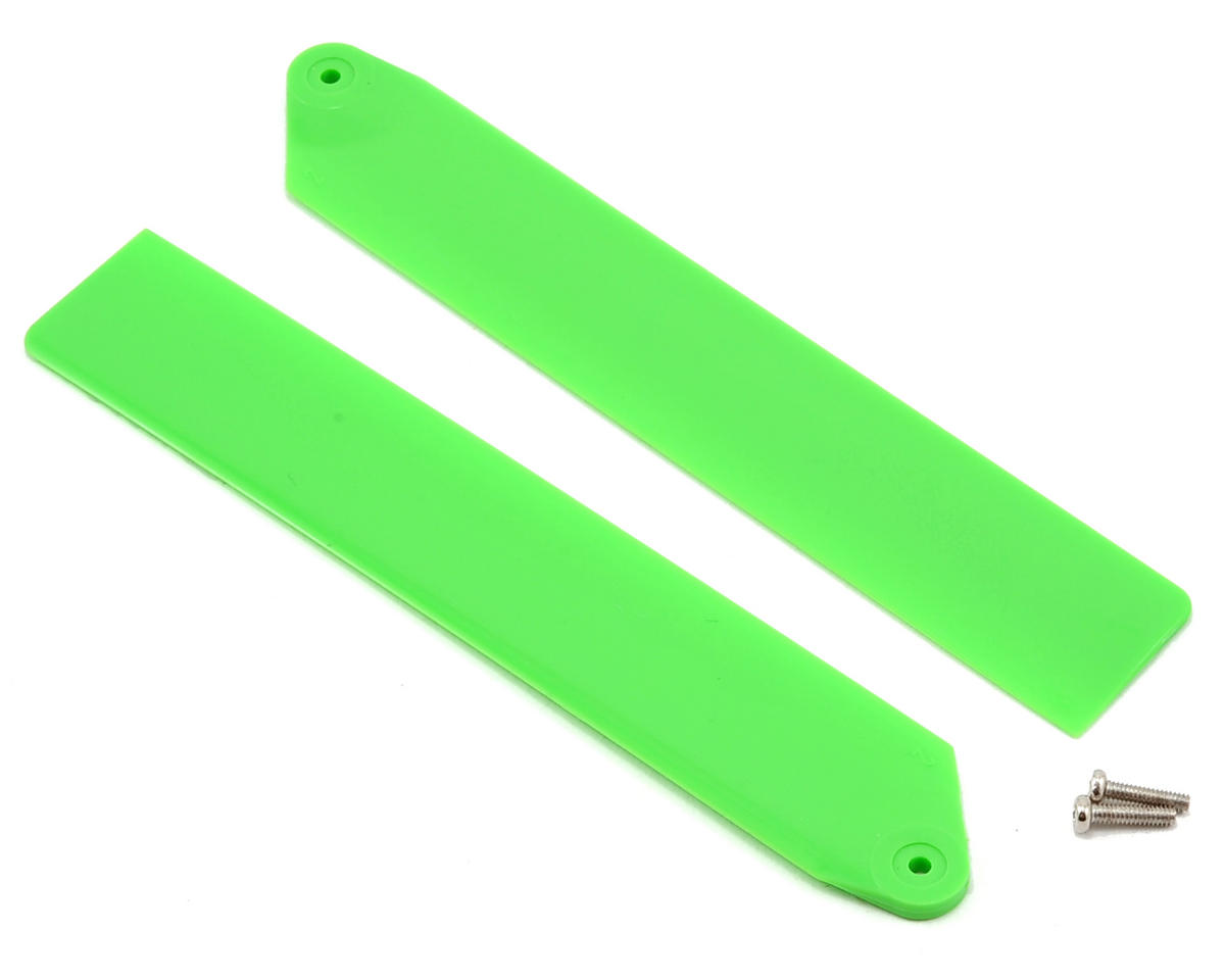 Blade Helis Hi-Performance Main Rotor Blade Set (Green)