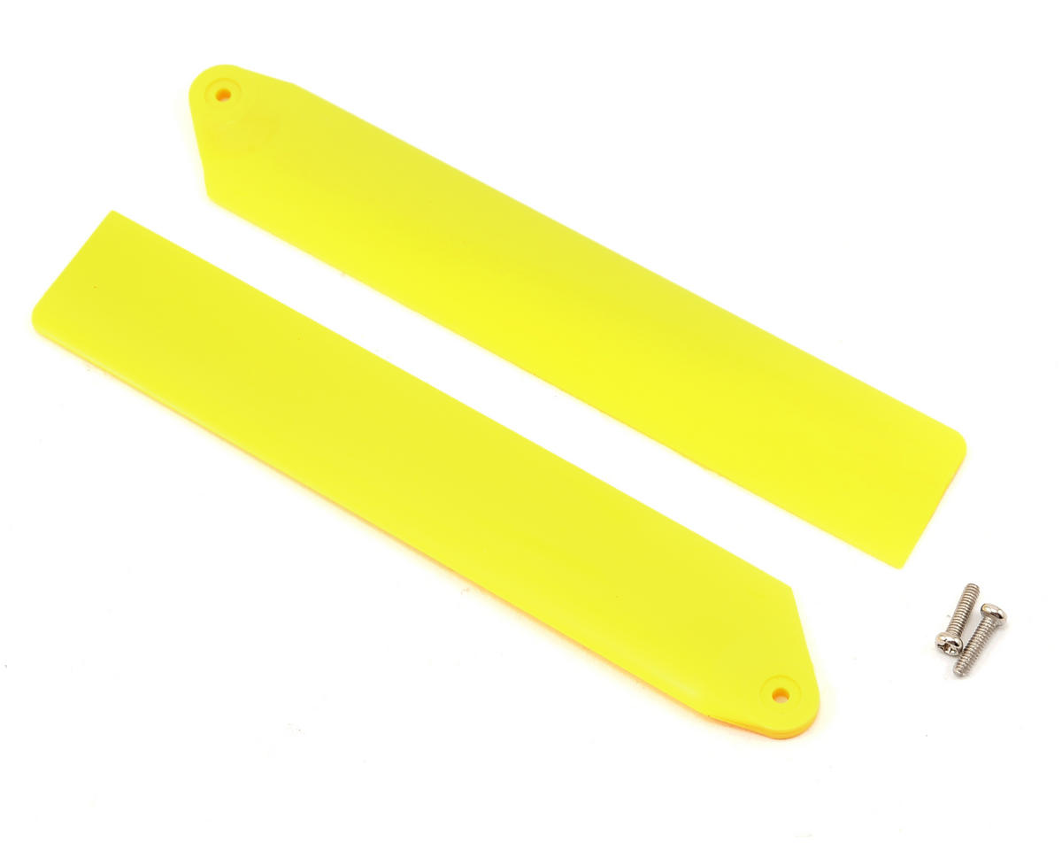 Blade Helis Hi-Performance Main Rotor Blade Set (Yellow)
