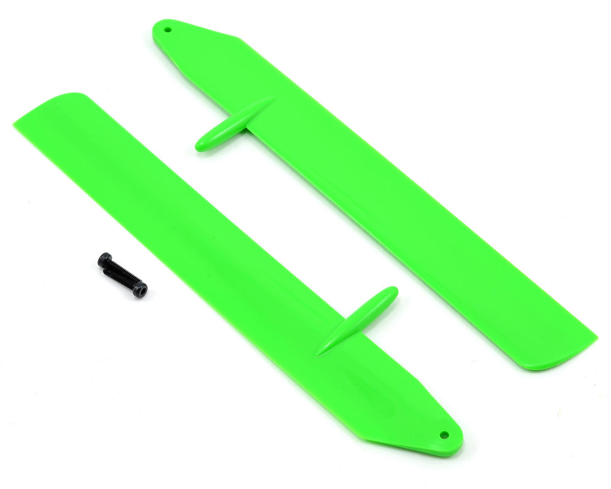 Blade Helis Fast Flight Main Rotor Blade Set (Green) (130 X)