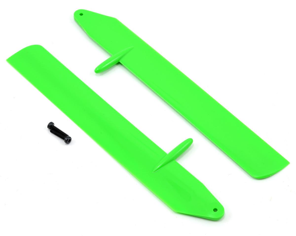 Blade Helis Fast Flight Main Rotor Blade Set (Green) (130 X)