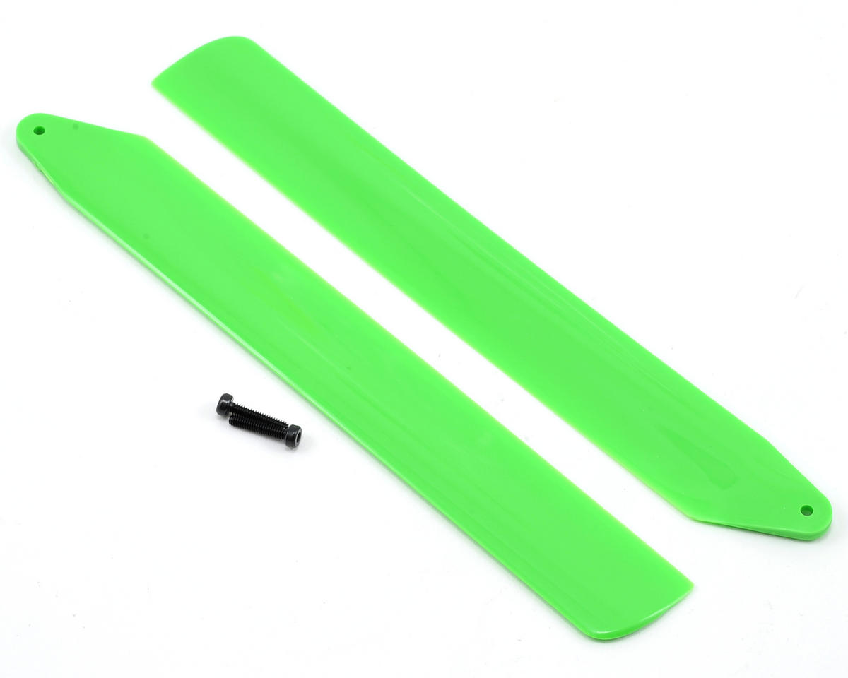 Blade Helis Hi-Performance Main Rotor Blade Set (Green) (130 X)
