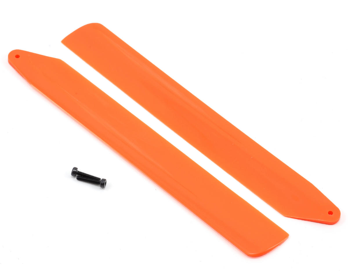 Blade Helis Hi-Performance Main Rotor Blade Set (Orange) (130 X)