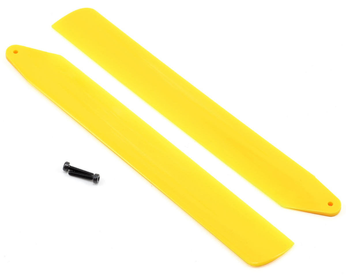 Blade Helis Hi-Performance Main Rotor Blade Set (Yellow) (130 X)