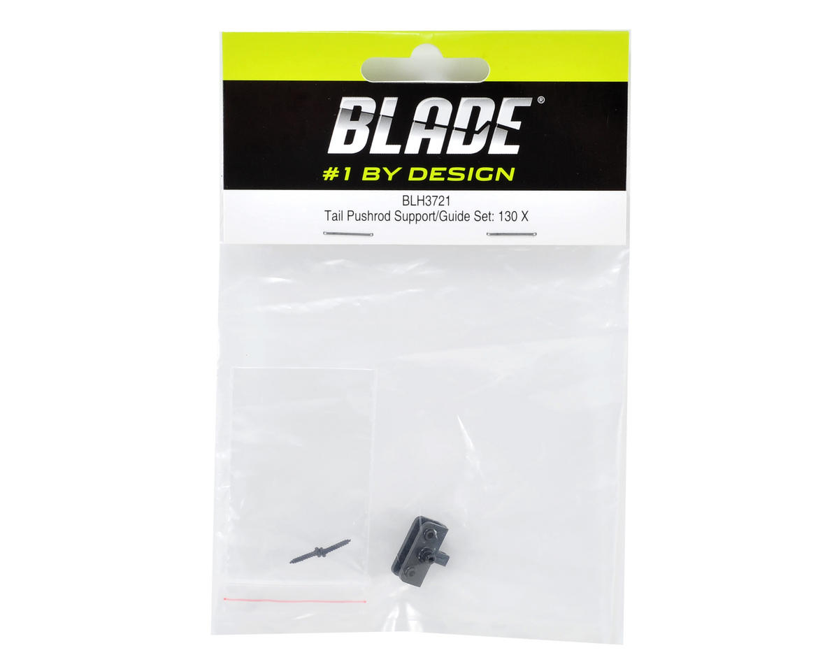 Blade Tail Pushrod Support/Guide Set