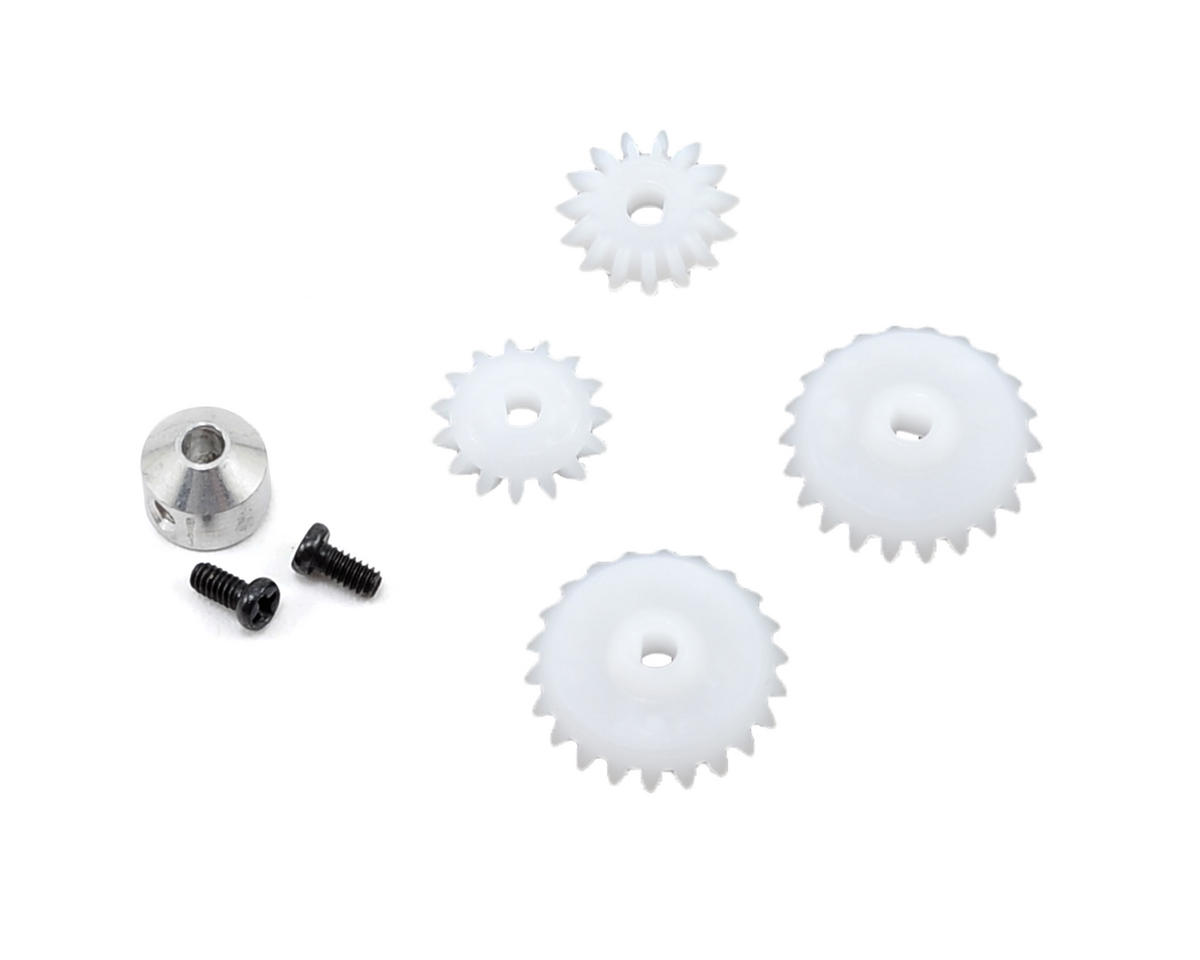 Blade Helis Rear Tail Gear Set w/Collar